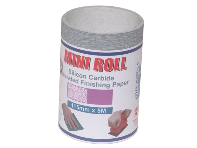Silicon Carbide Finishing Sanding Roll 115m x 5m 400g