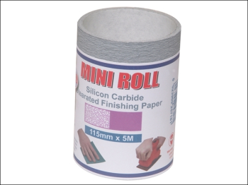 Silicon Carbide Finishing Sanding Roll 115mm x 5m 400G