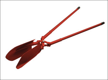 All Steel Posthole Digger (Scissor Action) 210mm (8in)
