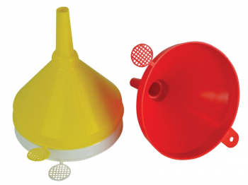 Plastic Funnel 150mm Set, 3 Piece