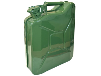Green Jerry Can - Metal 10 litre