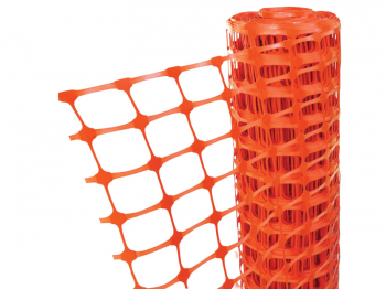 Orange Barrier Fencing 1m x 50m