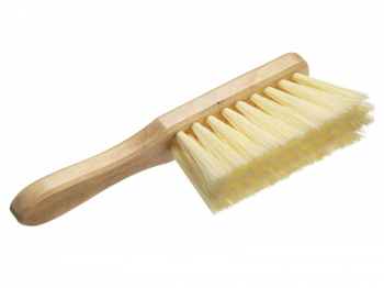 Soft Cream PVC Hand Brush 275mm (11in)