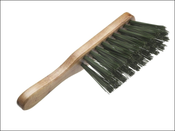 Stiff Green PVC Hand Brush 275mm (11in)