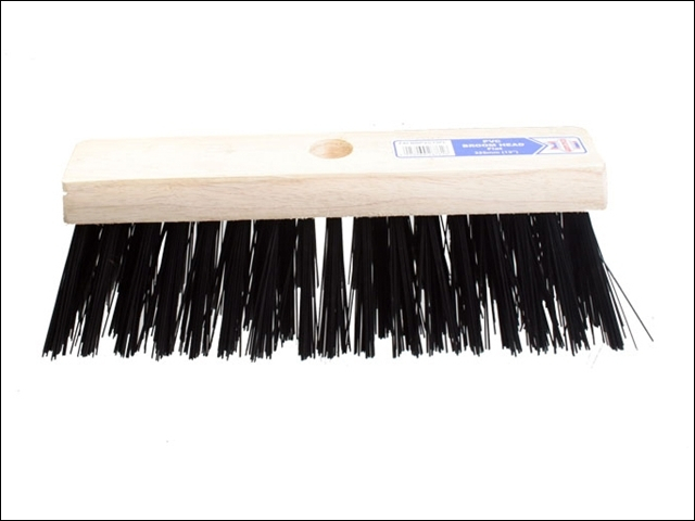 Flat Broom Head PVC 325mm (13in)