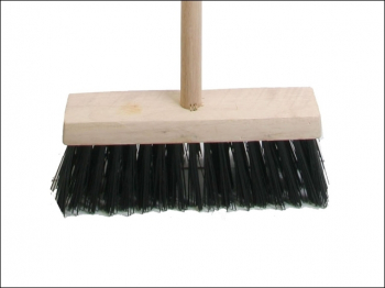 Broom PVC 325mm (13in) Head complete with Handle