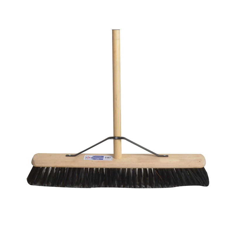 Broom PVC 600mm (24in) with 54in Handle