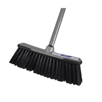 Soft Broom with Screw On Handle 300mm (12in)