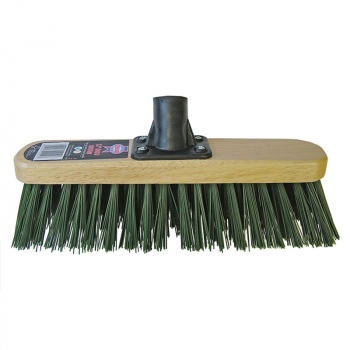 Stiff Green Broom Head 300mm (12in) Threaded Socket