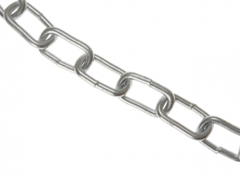 Zinc Plated Chain 5mm x 10m Box - Max. Load 160kg