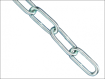 Zinc Plated Chain 4mm x 2.5m - Max. Load 120kg