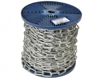 Galvanised Chain Link 4mm x 30m Reel - Max. Load 120kg