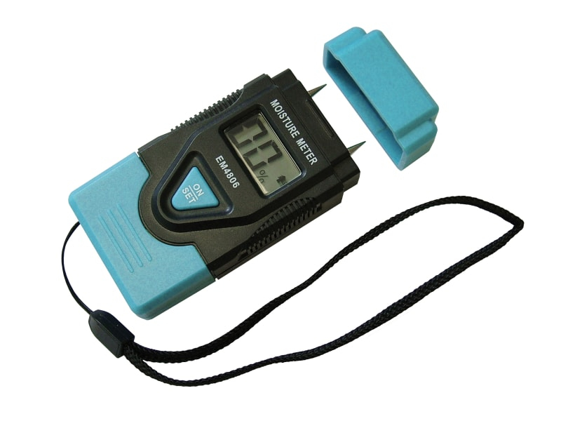 Damp & Moisture Meter LCD Display