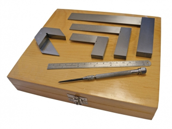 Engineer's Marking & Measuring Set, 6 Piece