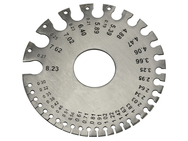Wire Gauge - Metric / Imperial