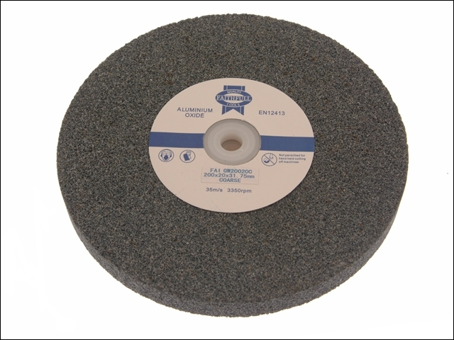 General Purpose Grinding Wheel 200 x 20mm Coarse Alox