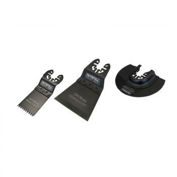 Multi-Function Tool Blade Set 3 Piece