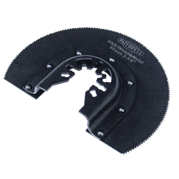 Multi-Functional Tool HSS Radial Blade Wood-Metal 87mm