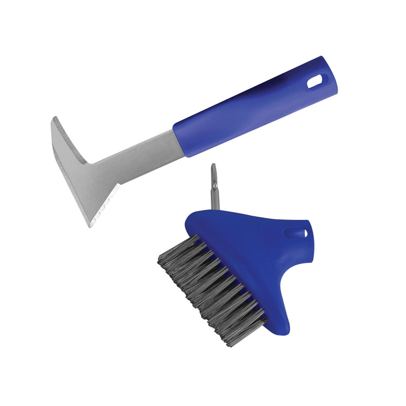 Auto-Lock Patio Steel Brush & Weeder