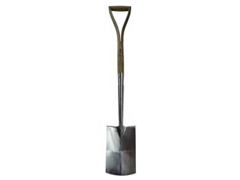 Prestige Stainless Steel Digging Spade Ash Handle
