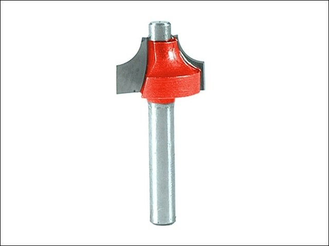 Router Bit TCT Ovolo 16.5mm 1/4in Shank