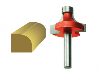 Router Bit TCT Rounding Over 15.8mm x 9.5mm 1/4in Shank