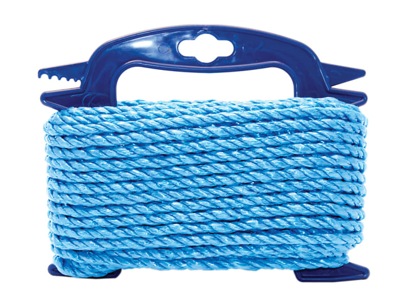Blue Poly Rope 6mm x 20m