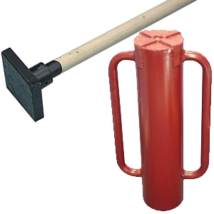 Rammer Handle 1.37m x 38mm (54in x 1.1/2in)