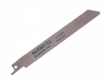 S918E Sabre Saw Blade Metal 150mm 18 TPI (Pack of 5)