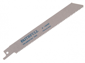 S918H Sabre Saw Blade Metal 150mm 10 TPI (Pack of 5)