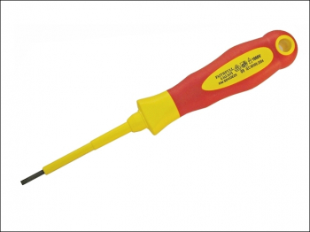 VDE Soft Grip Screwdriver Para llel Slotted Tip 5.5 x 125mm