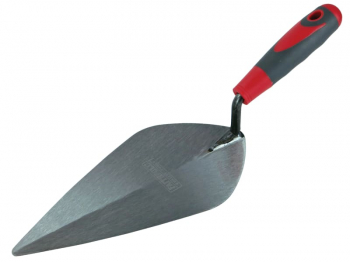 London Pattern Brick Trowel Soft Grip Handle 10in