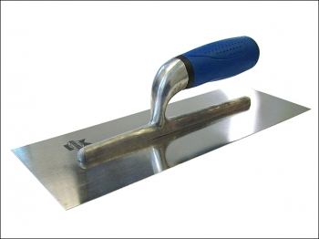 Plasterer's Finishing Trowel S tainless Steel Soft Grip Handl