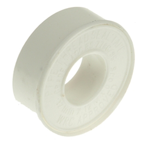 P.T.F.E Tape 12mm x 12m White (Pack 10)