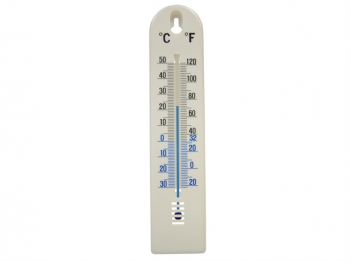 Wall Thermometer - Plastic 200mm