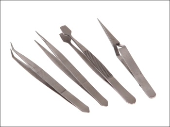 Tweezer Set, 4 Piece
