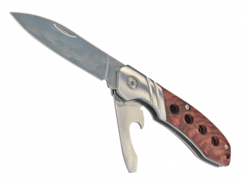 Twin Stainless Steel Blade Knife 63mm
