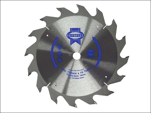 Fast Rip Trim Saw Blade 136 x 10mm x 24T