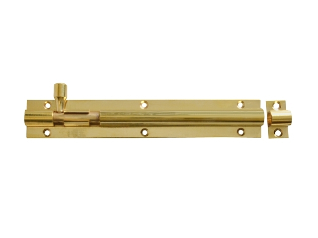 Door Bolt - Brass 150mm (6in)