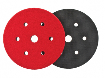 Dual Action Cushion Pad 150mm 6 + 1 Hole GRIP