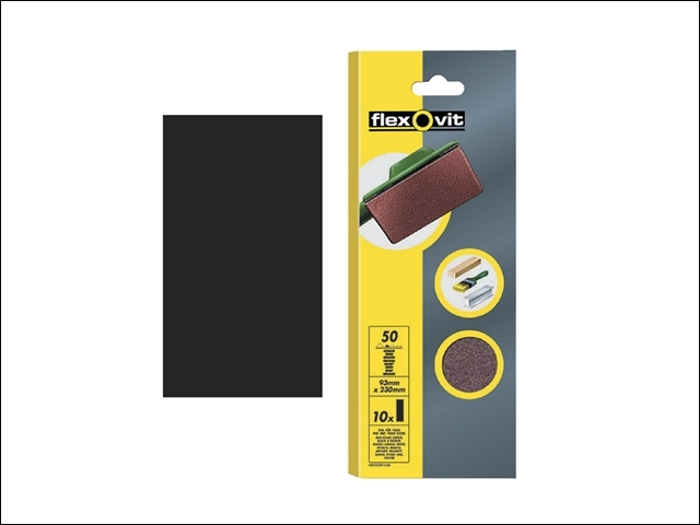 1/3 Sanding Sheets Plain Medium Grit (Pack of 10)