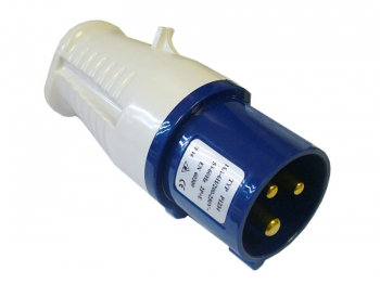 Blue Replacement Plug 240 Volt 16 Amp