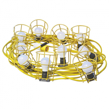 Festoon Lights 10 ES Bulbs 110V 22m