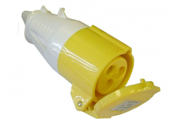 Yellow Socket 32A 110V