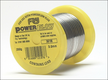 Powerflow Solder Wire 3mm - 250g Reel