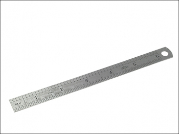 706S Stainless Steel Rule 150mm / 6in