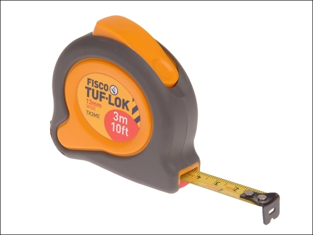 TKC3ME Tuf-Lok Pocket Tape 3m/10ft (Width 13mm)