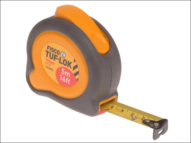 TKC5ME Tuf-Lok Pocket Tape 5m/16ft (Width 19mm)