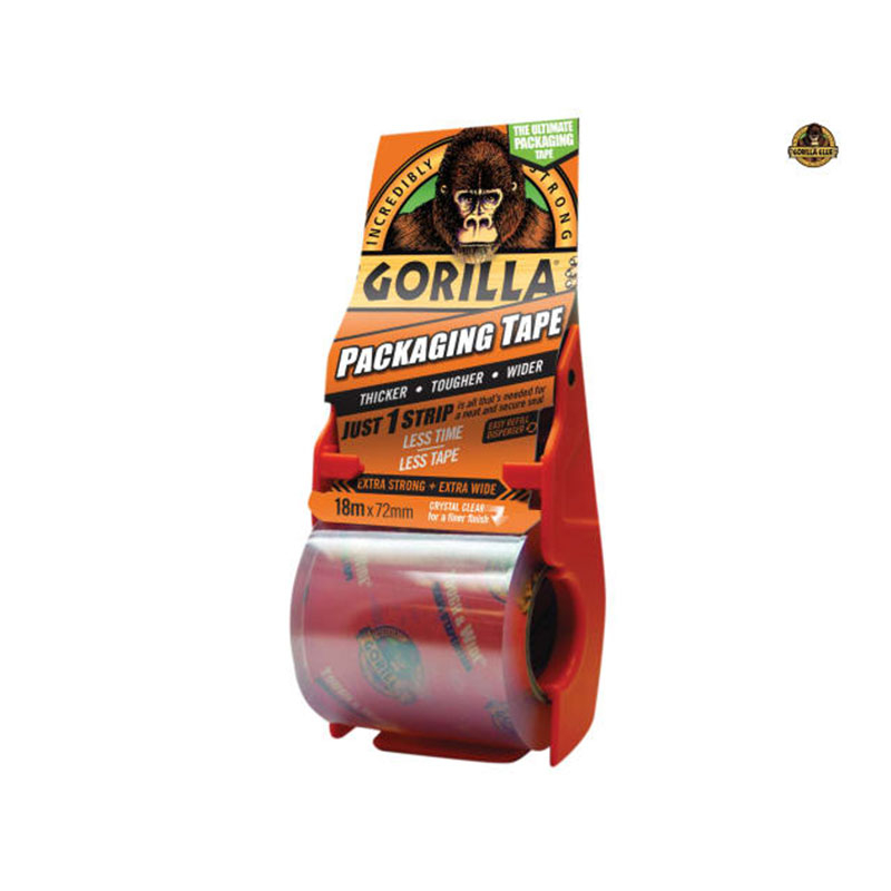 Gorilla Packaging Tape 72mm x 18m Dispenser