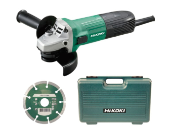 G12STX/J7 Angle Grinder 115mm Diamond Blade & Case 600W 240V